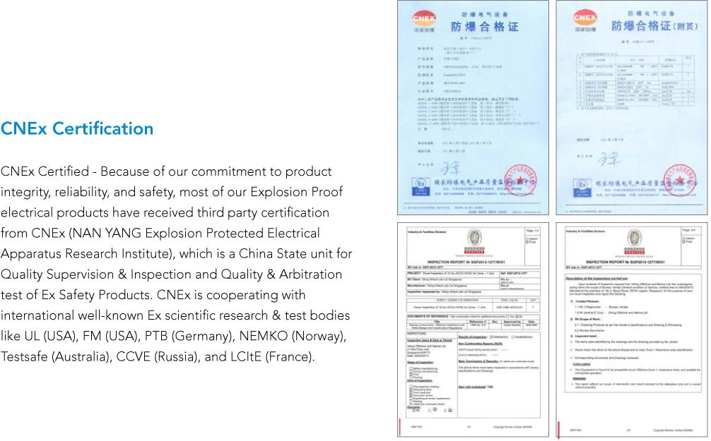 CNEx Certificate